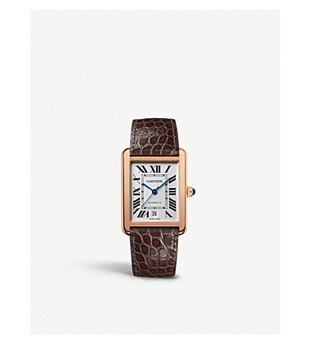 CARTIER Tank Solo extra-large watch