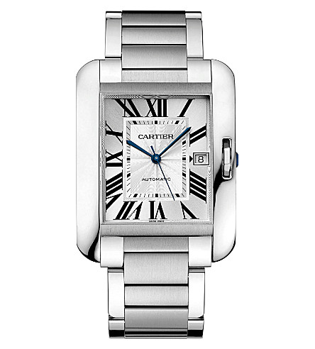 CARTIER Tank Anglaise extra-large watch