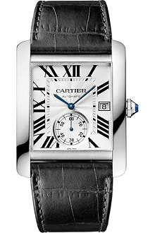 CARTIER Tank MC stainless steel watch