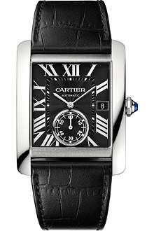 CARTIER Tank MC steel watch