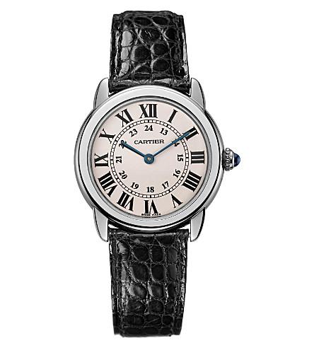 CARTIER Ronde Solo de Cartier stainless steel small watch