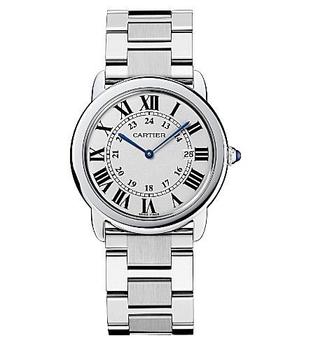 CARTIER Ronde Solo stainless steel large watch