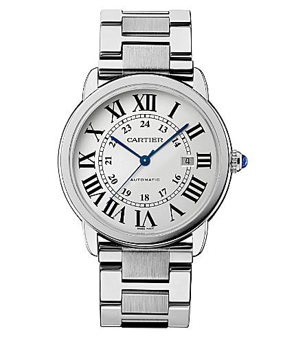 CARTIER Ronde Solo de Cartier stainless steel watch