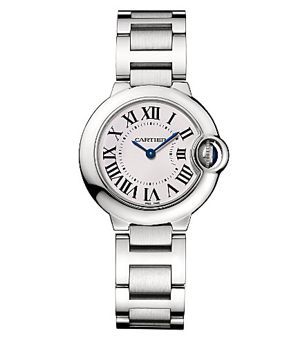 CARTIER Ballon Bleu de Cartier stainless steel watch