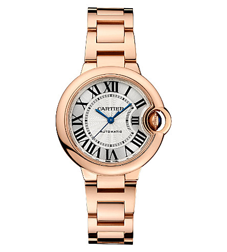 CARTIER Ballon Bleu de Cartier 18ct pink-gold watch