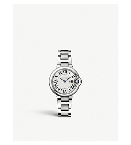 CARTIER Ballon Bleu de Cartier stainless steel watch