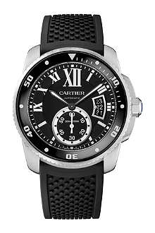 CARTIER Calibre de Cartier stainless steel diver watch