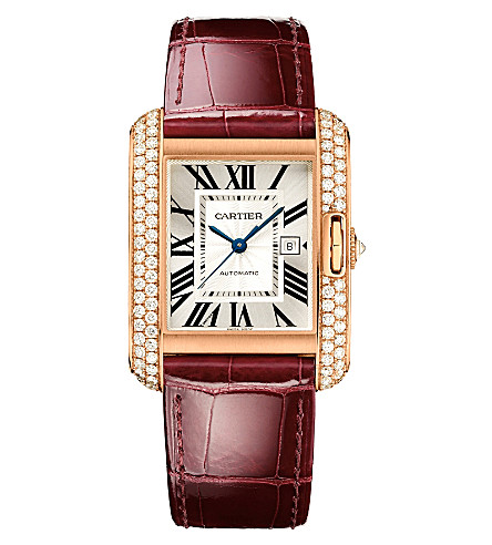 CARTIER Tank Anglaise watch large model