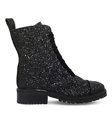 KG KURT GEIGER Sparkle glitter boots (Black