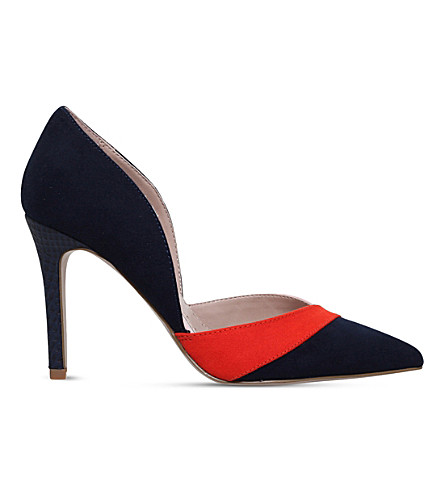 MISS KG Cai 2 half d'Orsay courts (Navy