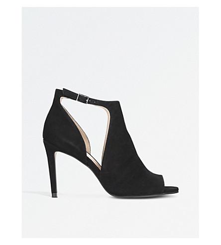 CARVELA Glacier leather sandals (Black