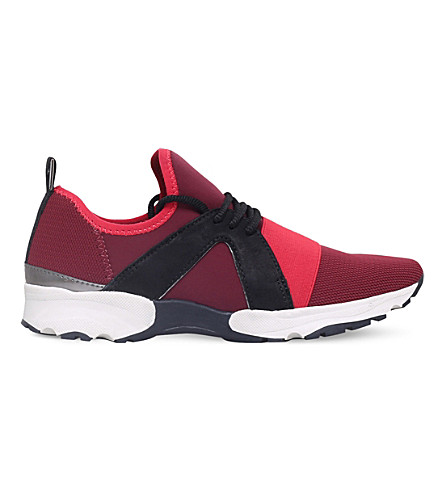 CARVELA Lamar neoprene trainers (Wine