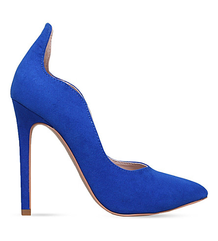 CARVELA Amelia faux-suede courts (Blue