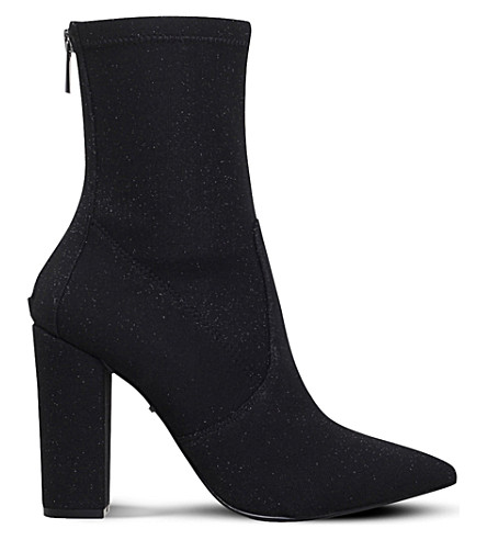 CARVELA 闪光小牛靴 (黑色