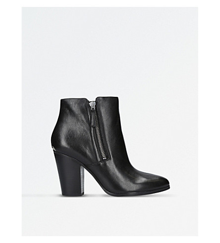 MICHAEL MICHAEL KORS Denver leather ankle boots (Black