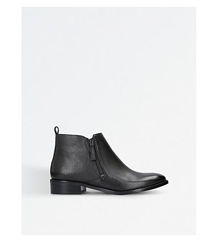 MICHAEL MICHAEL KORS Denver leather ankle boots (Black