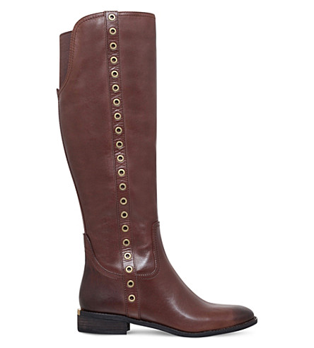 MICHAEL MICHAEL KORS Dora knee-high leather boots (Brown