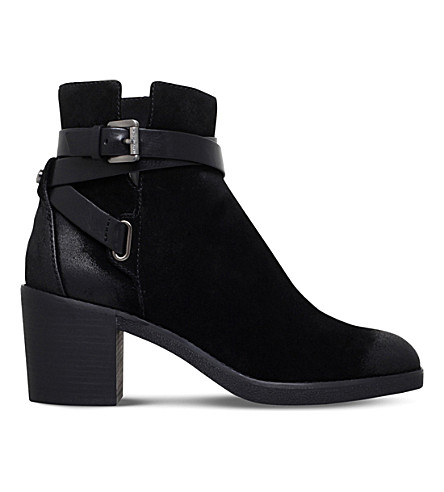 MICHAEL MICHAEL KORS Fawn suede ankle boots (Black
