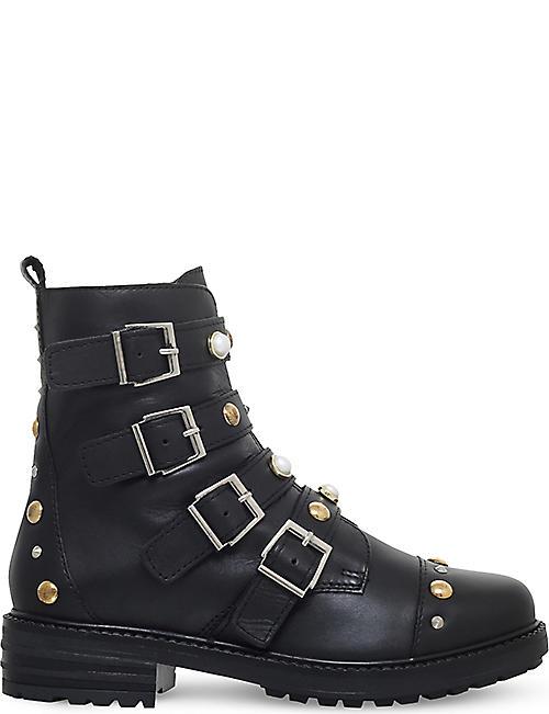 carvela shoes boys. carvela swish stud-embellished leather ankle boots carvela shoes boys