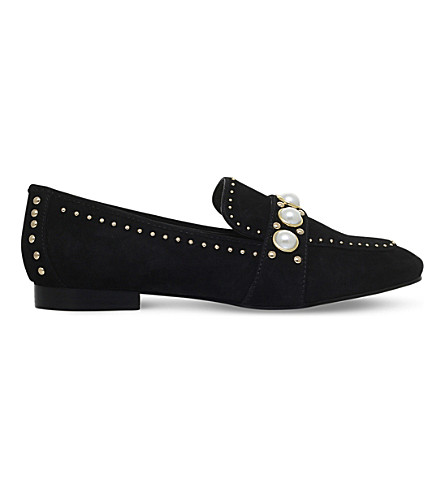 CARVELA Leighton suede loafers (Black