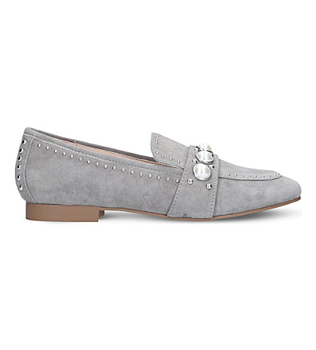 CARVELA Leighton suede loafers (Grey