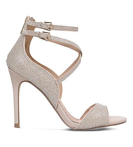 MISS KG Faleece embellished heeled sandals