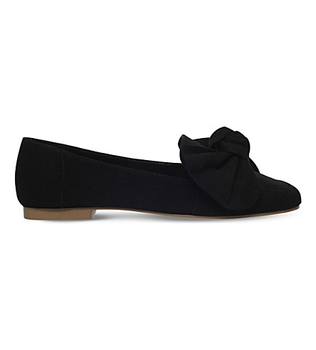 MISS KG 诺艾尔蝴蝶结芭蕾舞演员平底鞋 (黑色