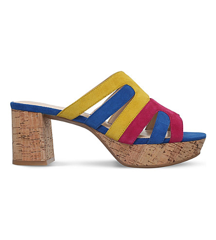 NINE WEST Copula suede sandals (Mult/other
