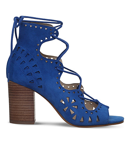 NINE WEST Gweniah suede sandals (Blue