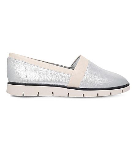 NINE WEST Uala metallic trainers (Silver+com