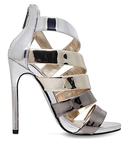 CARVELA Gleam metallic sandals (Gold