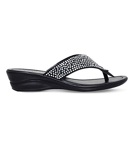 CARVELA COMFORT Sunny studded sandals (Black