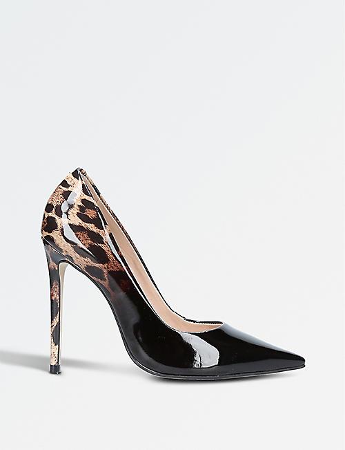 carvela shoes boys. carvela alice leopard-print patent courts carvela shoes boys