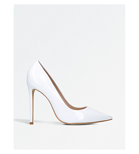 CARVELA Alice patent-leather courts (White