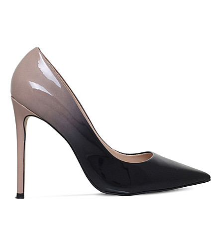 CARVELA Alice patent leather ombré courts (Nude