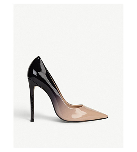 CARVELA Alice ombré patent-leather courts (Beige