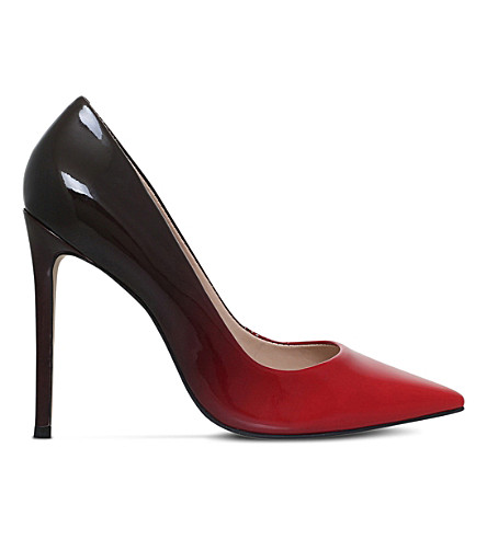 CARVELA Alice patent leather ombré courts (Red