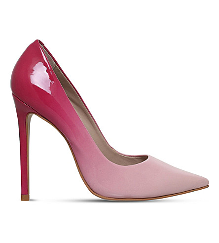 CARVELA Alice patent-leather courts (Pink+comb