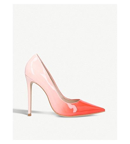 CARVELA Alice ombré patent-leather courts (Red/other