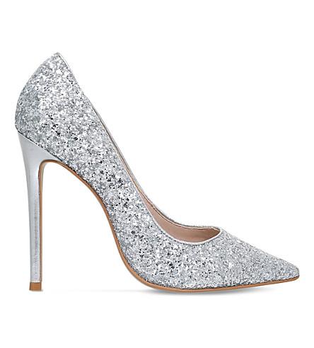 CARVELA Alice glitter courts (Silver
