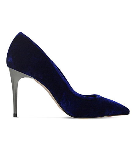 CARVELA Android velvet courts (Blue