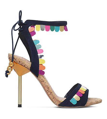 MISS KG Freya faux-suede strappy sandals (Mult/other