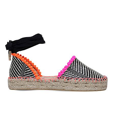 MISS KG Dizzy woven espadrille sandals (Mult/other