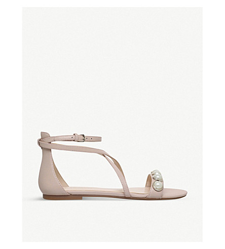 NINE WEST Dane leather sandals