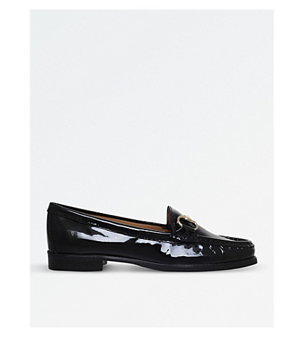 CARVELA COMFORT Click 2 patent leather loafers (Black
