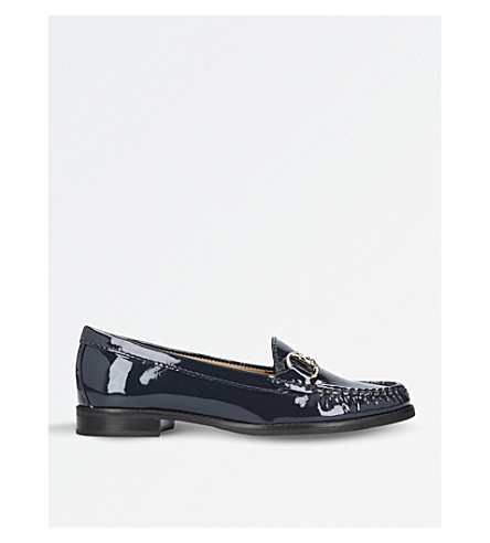 CARVELA COMFORT Click 2 patent leather loafers (Navy