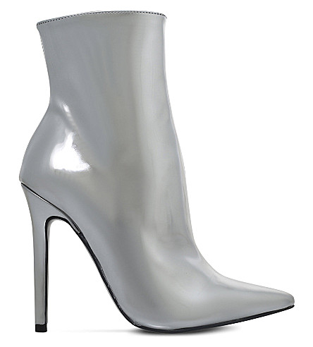 CARVELA Good metallic ankle boots (Silver