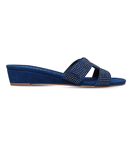 CARVELA COMFORT Sade suede sandals