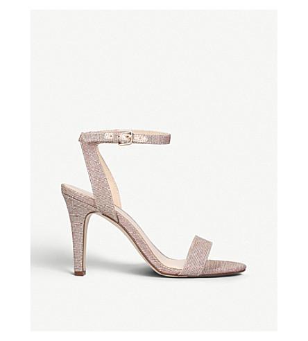 NINE WEST Aniston high heel sandals (Gold