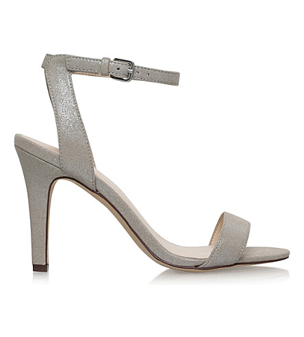 NINE WEST Aniston high heel sandals (Silver